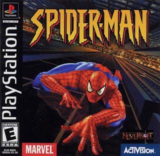 Jogo Spider-Man para Playstation 1