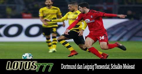 Dortmund dan Leipzig Tersendat, Schalke Melesat