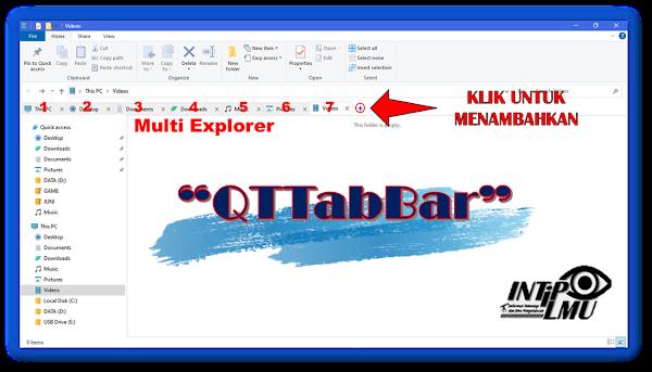 Multi Tab File Explorer QTTabBar Full Free