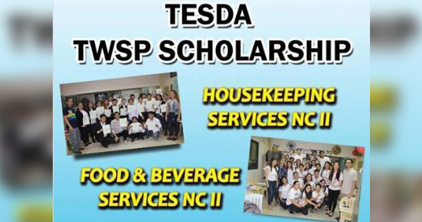 2 Services Offered TESDA TWSP Scholarship (FREE Training)