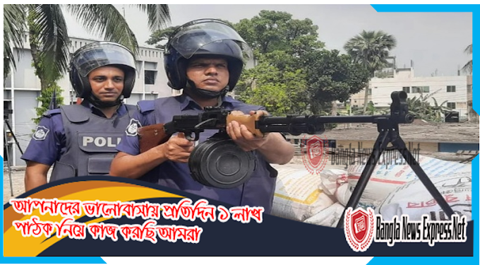 This time security has been tightened in front of police stations, outposts and investigation centers in Brahmanbaria and Narayanganj