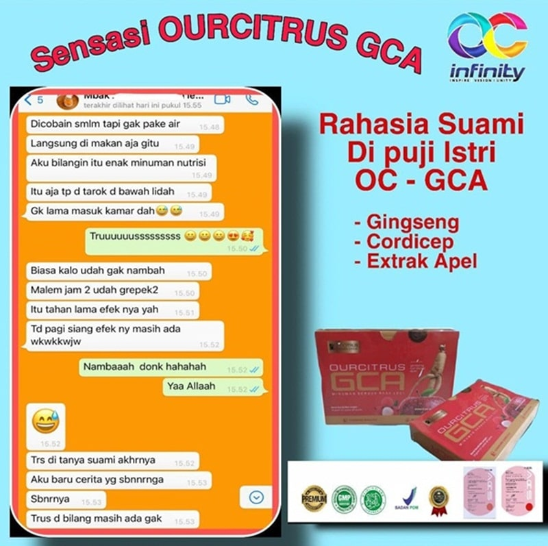 Obat kuat alami GCA ourcitrus