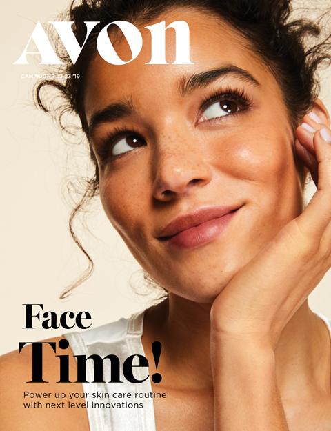 avon catalog 22-23 face time sale flyer