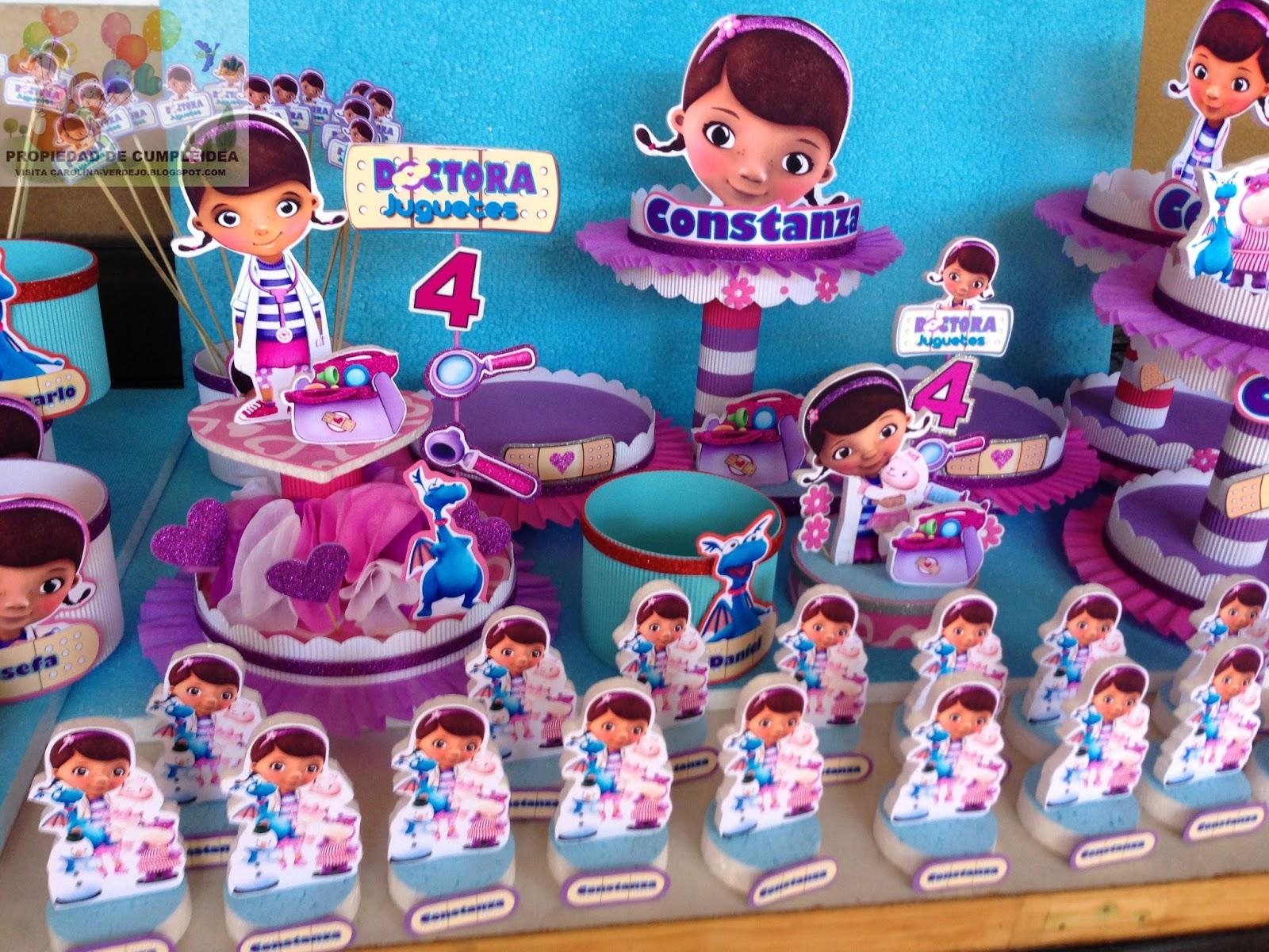 Decoraciones Infantiles Doctora Juguetes