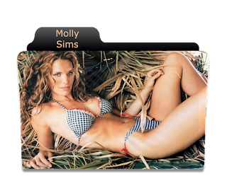 Preview of Molly sin, model, photoshoot, folder icon