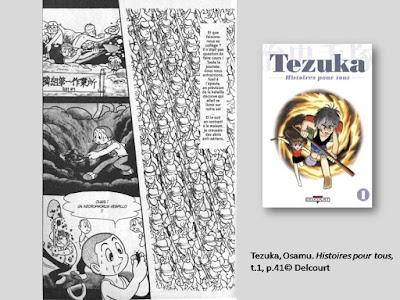 Tezuka, Osamu. Histoires pour tous, t.1, p.41© Delcourt