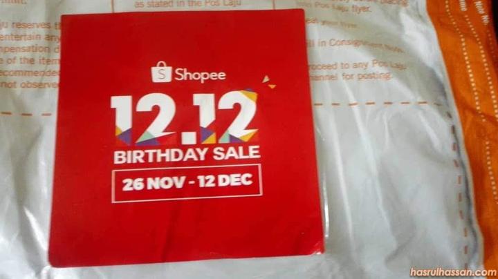 Shopee buat jualan harga murah sempena 12.12 harijadi