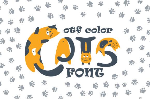 Cats Color Font