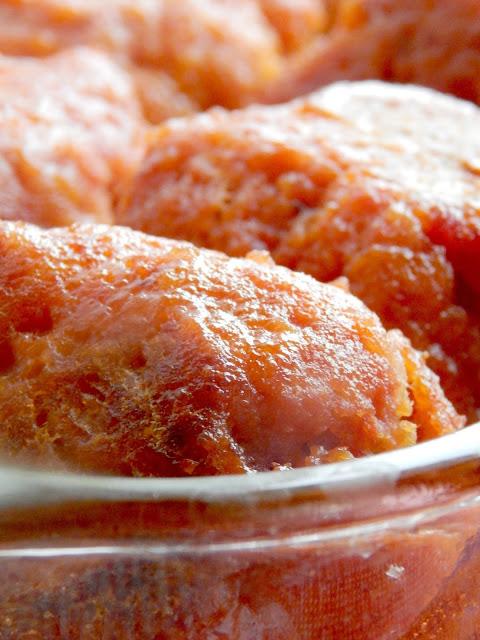 iowa ham balls (sweetandsavoryfood.com)