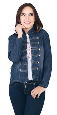 jaket jeans, jaket jeans wanita, jaket jeans original