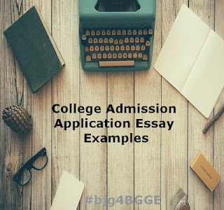 College Admissions Essay Samples
