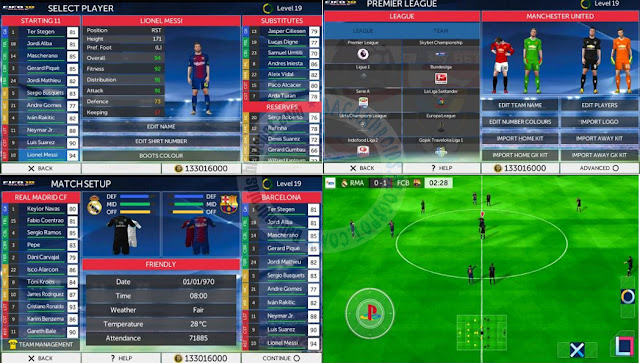 Firts touch Soccer FTS Mod Fifa 18 Apk data obb