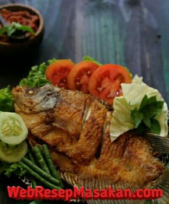 Ikan gurame goreng sambal terasi, Resep Ikan Gurame Goreng Sambal Terasi,