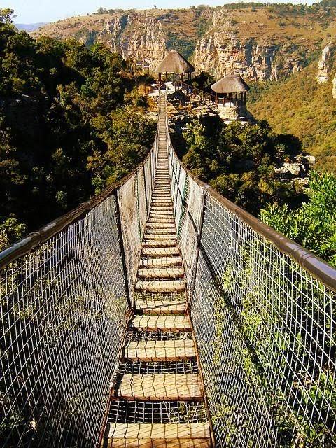 Swing Bridge,  Oribi Gorge, South Africa