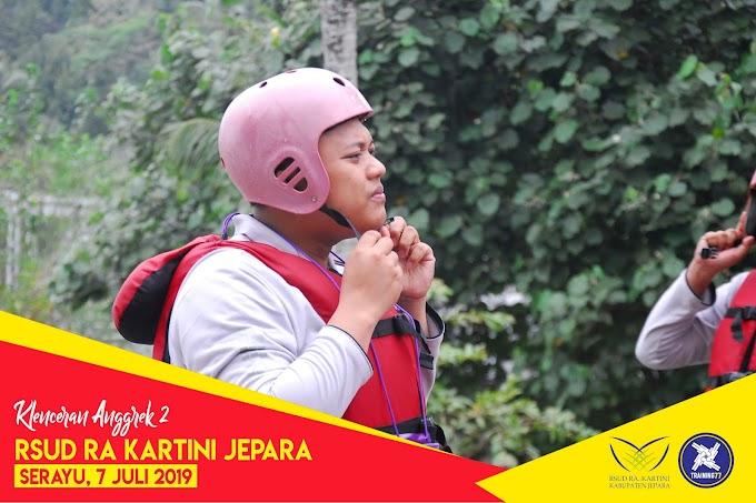 RSUD RA Kartini Jepara Rafting di Serayu