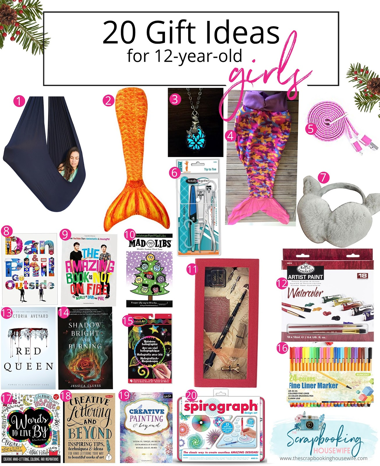 Ellabella Designs 20 Gift Ideas For 12 Year Old Tween Girls Guide Birthday