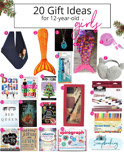 Best Gifts For Teen Girls 2016: Ellabella Designs: 20 GIFT IDEAS FOR 12-YEAR-OLD TWEEN
