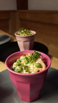 Leichtes Rezept Reissalat - Kinder in der Küche - Mamablog aus München