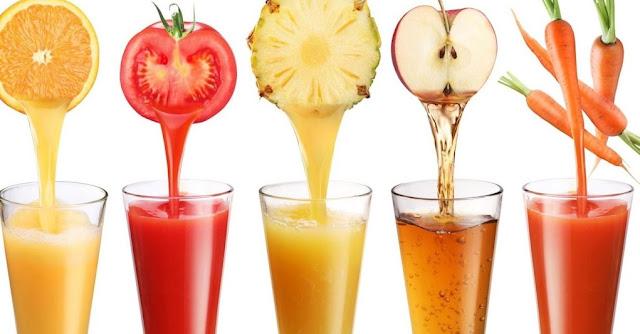 Jus buah dan sayur pencerah kulit kusam