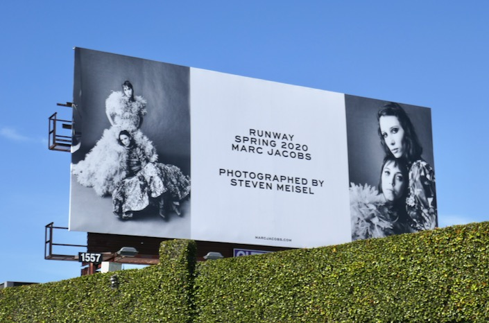 Marc Jacobs Runway Spring 2020 billboard