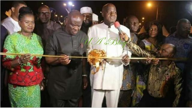 Amaechi: Wike invited Dogara to inaugurate a bridge I built