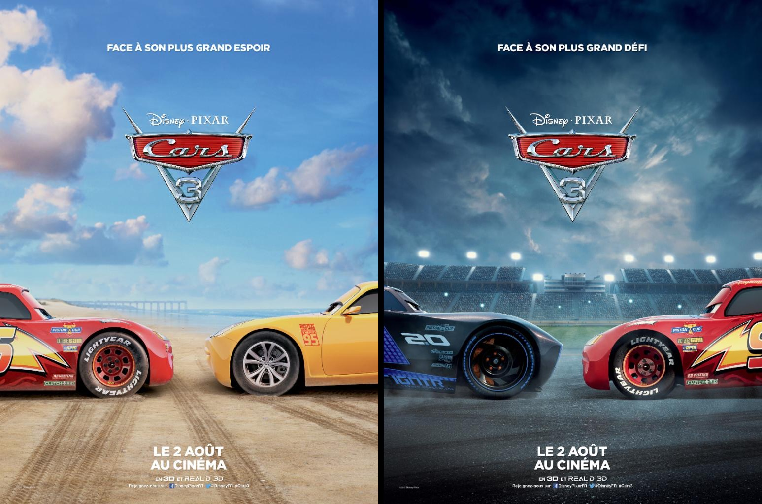 Cars 3 Characters Face Off In Two New French Promotional