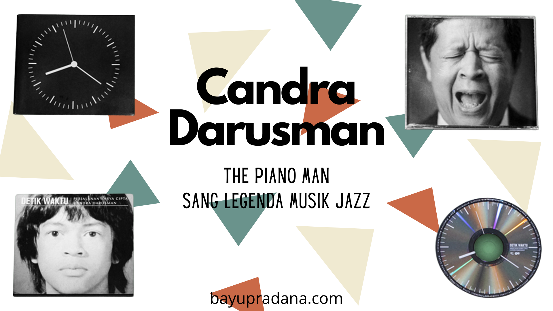 Candra Darusman, The Piano Man sang Legenda Musik Jazz