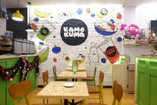 berbagai contoh lukisan dinding kafe yang unik dan menginspirasi