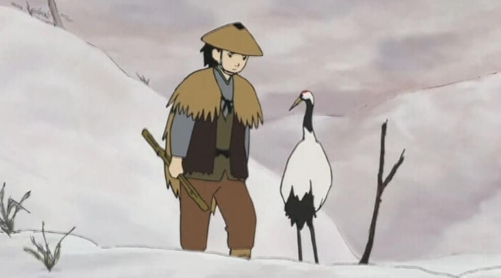 the tale of the grateful crane