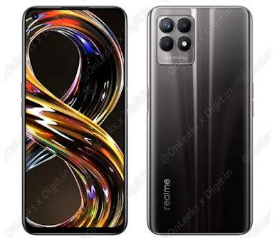 مواصفات هاتف Realme 8i 4G وتفاصيل الألوان