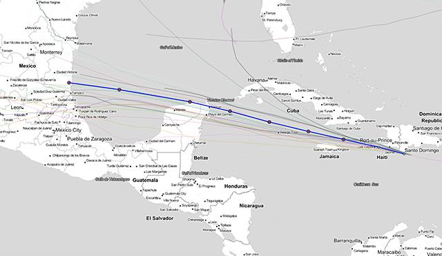 Grace avanza hacia la Península de Yucatán