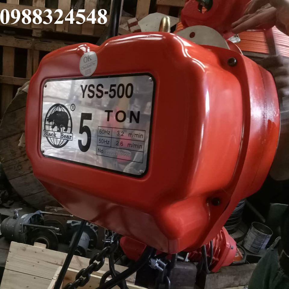 Pa lăng điện xích Black Bear YSS-500 5 tấn