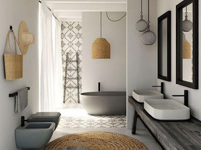 baños de tamaño reducido, recomendaciones de baños, baños pequeños