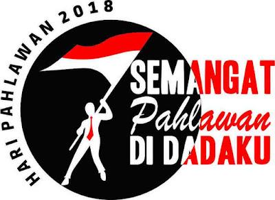 Logo Hari Pahlawan 2018