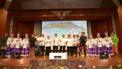 Lounching International Tour De Banyuwangi Ijen 2016