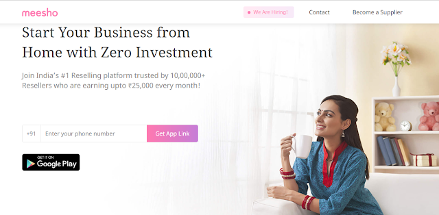 Meesho - Start Your Business from Home with Zero Investment