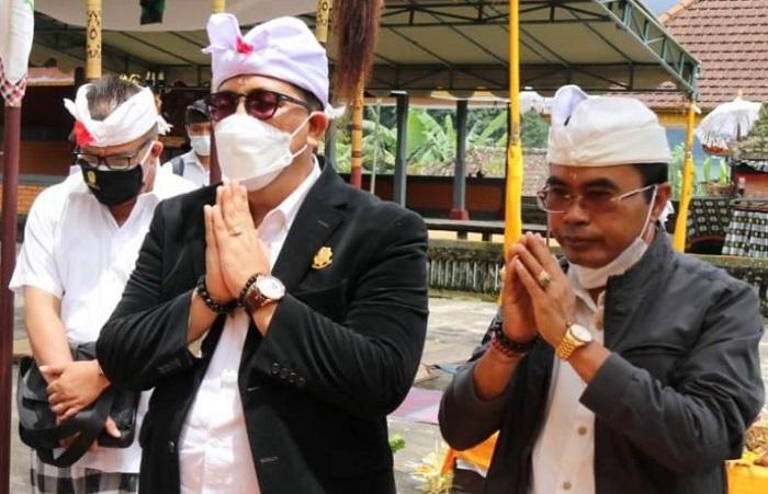 Putus Covid-19, Bupati Terpilih Komang Sanjaya Ajak Masyarakat Taati Prokes