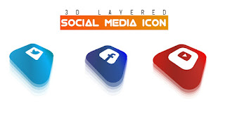 How To Make 3D Layered Isometric Icons Design In PixelLab Full Tutorial