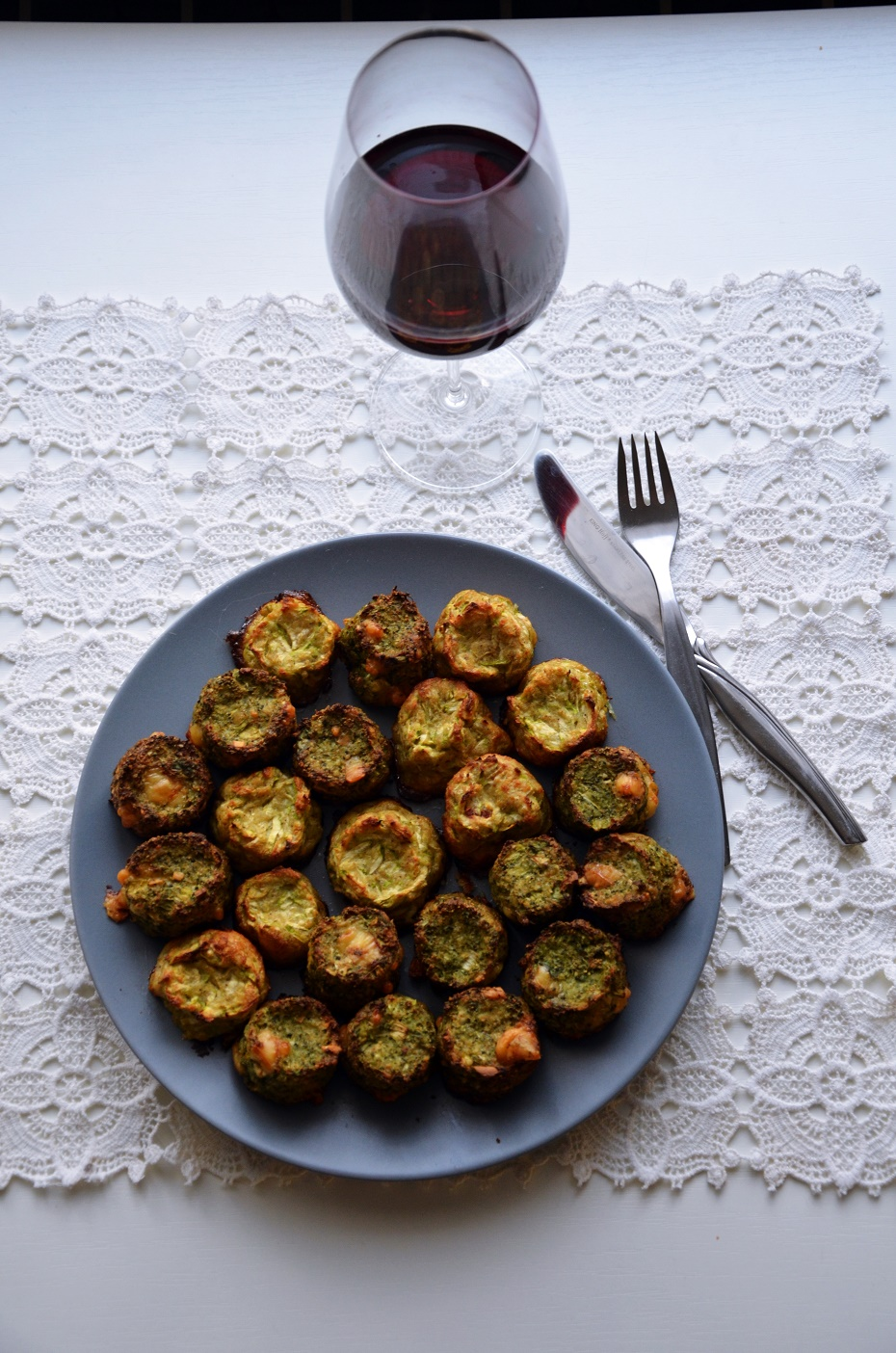 brokułowe klopsiki