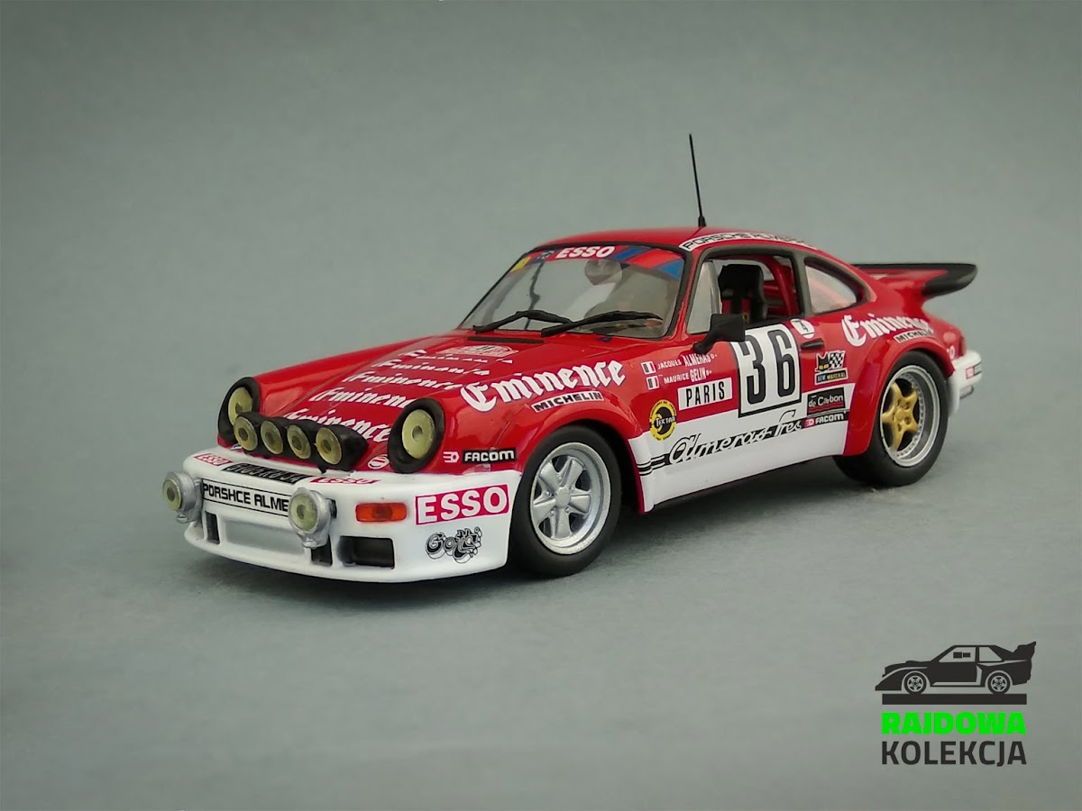 IXO Altaya Porsche Carrera RS Rallye Monte Carlo