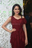 Pragya Jaiswal in Stunnign Deep neck Designer Maroon Dress at Nakshatram music launch ~ CelebesNext Celebrities Galleries 082.JPG