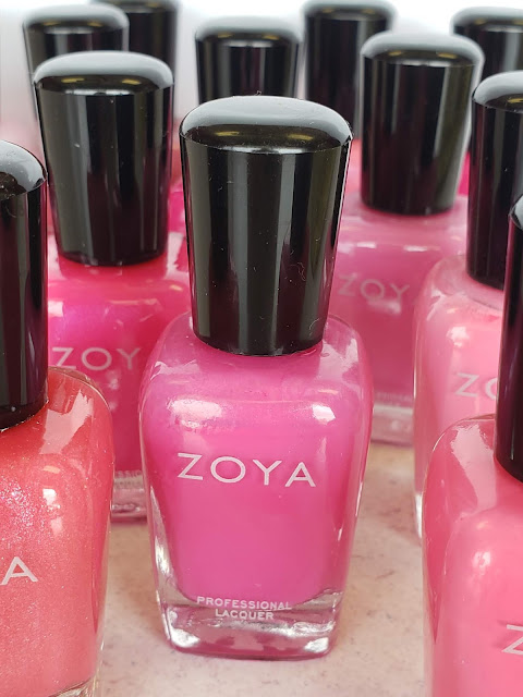 zoya pink nail polish