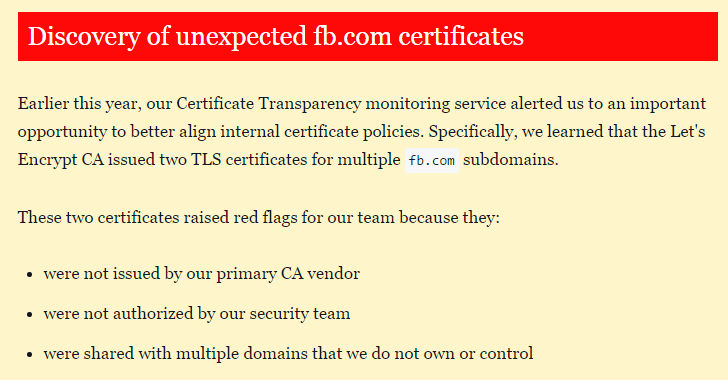 facebook-forged-SSL-certificate