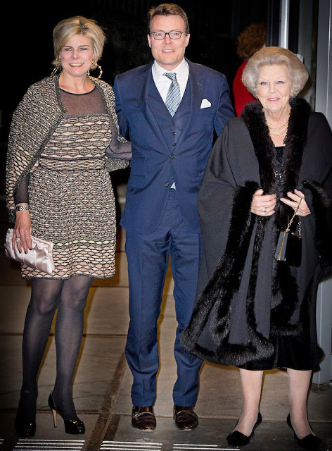 Princess Beatrix, Prince Constantijn And Princess Laurentien At Holland Dance Festival