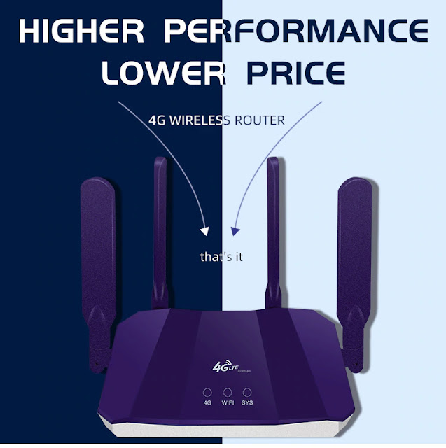 300Mbps 4G Router Sim Card Mobile WIFI Hotspot Unlocked Car Networking Sim Router CPE903 Lte 4G Sim Card Wireless Wifi Router