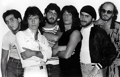 The Ticket Band... Left to Right -  Dennis Espantman, Dave Gellis, Gary Gold, Joe Lynn Turner, Larry DeBari, Bill Biddle