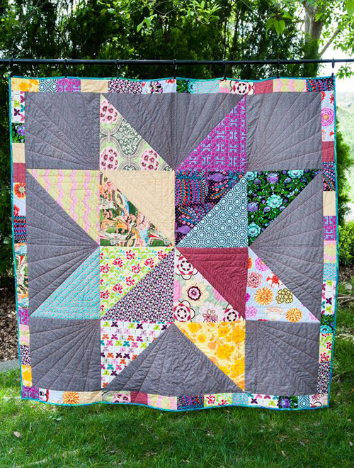 Silas' Giant Star - Free Quilt Pattern