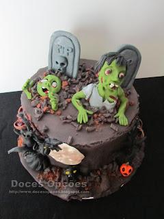 cake Happy Halloween