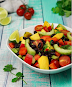 Chilli, Mango And Black Bean Salad - Keto Vegan Recipe