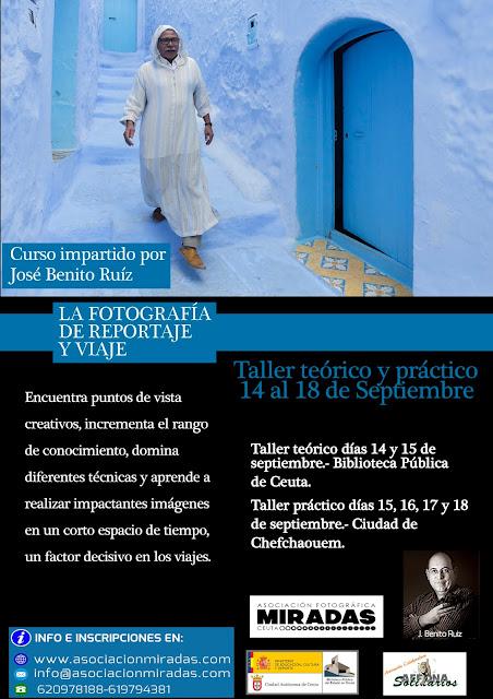 Curso 'La Fotografía de reportaje y viaje'